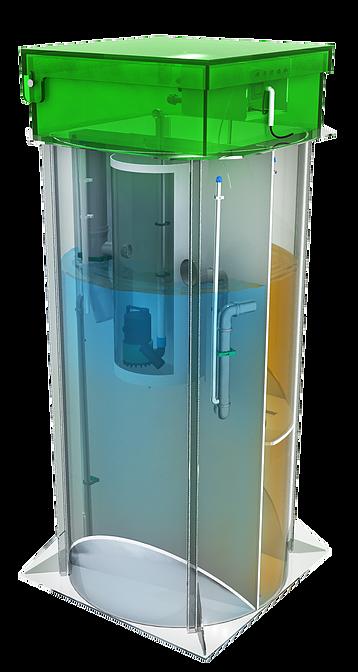 Септик аквалос схема